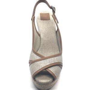 Tory Burch Majorca Slingback Wedge Sandal 9